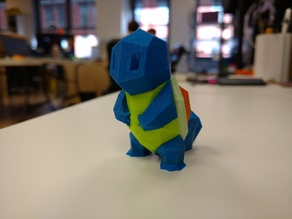 Color Low-Poly Squirtle