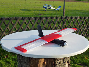 "Speedy ""Red Mini Wing"" RC Plane"
