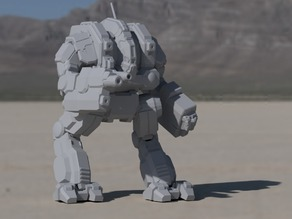 CTF-1X Cataphract for Battletech
