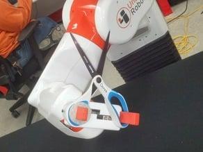 scissor fixture for UBR-1 robot