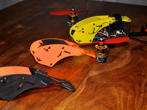 Custom canopy for RCExplorer V3 and mini tricopter