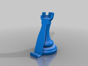 Smartphone/Tablet Holder  Chess Rook