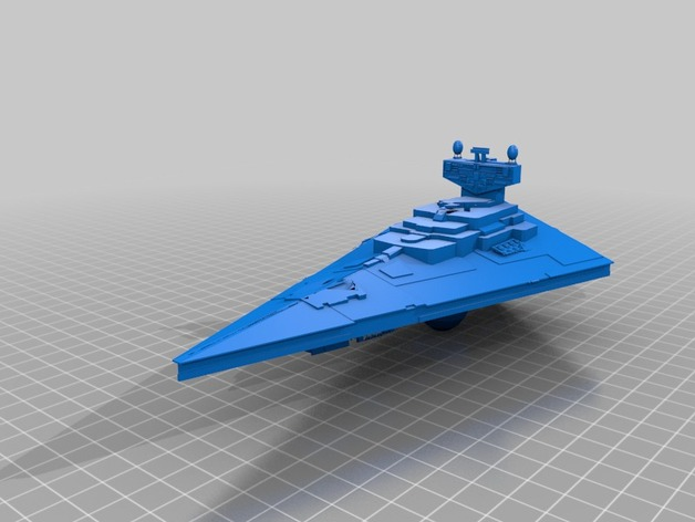 Imperial Star Destroyer by The_Dark_Knight - Thingiverse