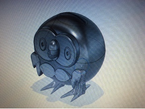 Pokemon Rowlet piggy bank