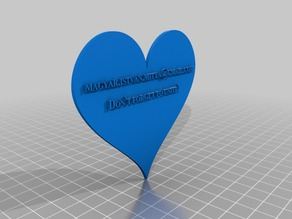 3D_Heart_and_Text_Customizable