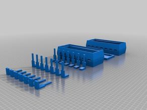 14 pin breadboard holder and storage