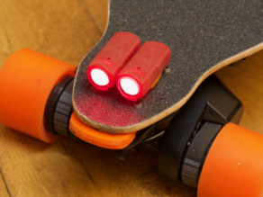 Boosted Board Mount for rear Shred Lights