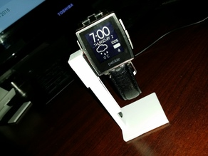 Simple Pebble Steel Holder