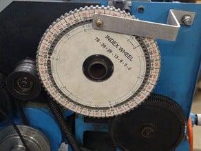 Lathe Head Degree Wheel
