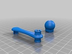 Elliptical Gear - With Knob