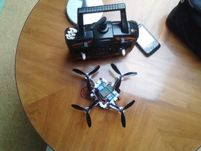 No-Screw Micro-Quadrocopter ~14-16cm