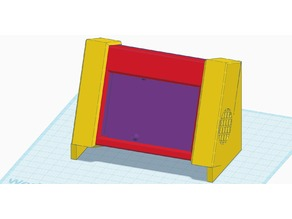 Raspberry Pi case for 3D printer