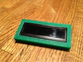 16x2 LCD Frame