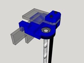 Sunhokey prusa i3 (6mm acrylic) z-axis fix to frame