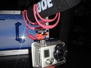 Gorillapod/GoPro/On-Camera Mic Hybrid Mount