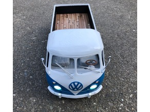 VW Emblem for 3d printed 1/10 scale VW Bus