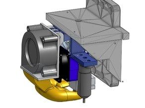 E3D V6 Fan Duct