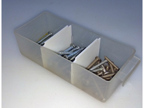 Plastic 16-tray Utility Box Dividers
