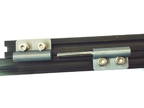 Hinge for 20mm T-Slot Extrusions