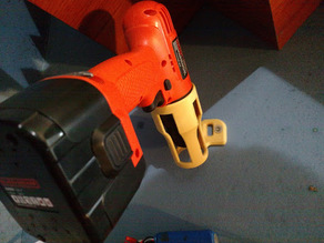 Black+Decker 12V Drill wall mounted holder