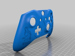 Xbox One S Custom Controller Shell: Apex Legends - Wraith Edition