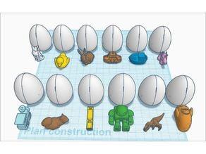 12 surprise egg (réparer)