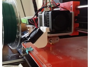 Prusa i3 30mm fan duct (for MK8)