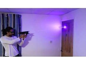 3D Printed Laser Gun 2.5W