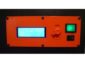 Original Prusa i3 Mk3 - Build-in LCD Plate