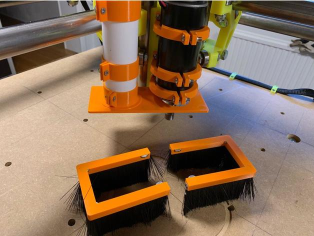 MPCNC Swedish dust shoe by hackemag - Thingiverse
