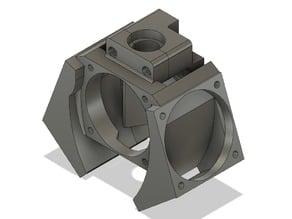 Ender 3 XCR-BP6 mount Triple fan 40mm