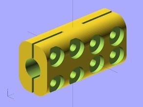 Ekobots - Motor shaft coupler