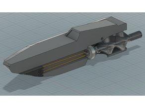 Badewannen Jetboot - Gummiantrieb