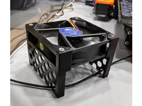 92mm Vertical fan mount