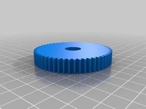 Mini lathe/Gingery lathe metric change gears