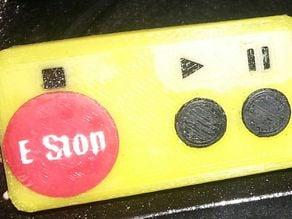 3dpBurner2 full printed control panel