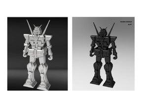 Robot Gundam Miniature Toy