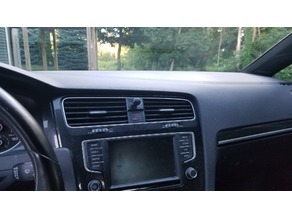 Volkswagen GTI Cell phone mount