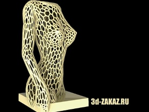 Female body, Remix, Voronoi vers 5
