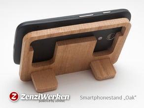 Travel Bedside Phoneholder // Hardwood cnc/laser