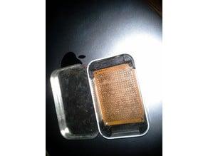 mint tin mounts for 50x70mm protoboard