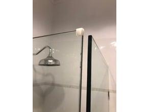 Shower door protective bumper