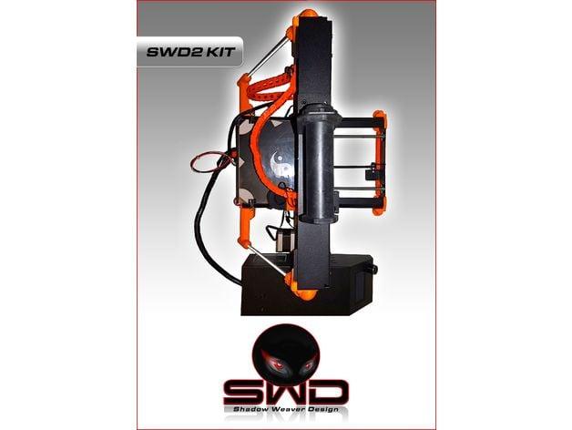 Monoprice Maker Select PLUS REAR Z brace kit 3d printer XD Wanhao Duplicator