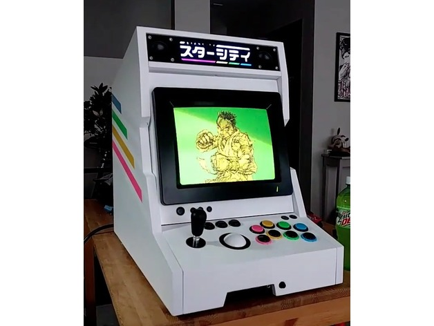 starcity bartop arcade candy cab by gcharlie84 thingiverse