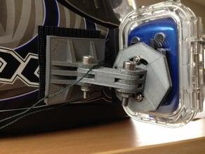 SJ1000 Action Camera motorcycle helmet mount