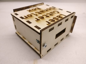 Single Screw Parameteric Laser Cut Box