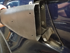 """Exige Side Ducts for 3"""" Hose"""