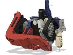 Creality Titan Aero (V6 & Volcano) Mount + BL Touch/EZABL