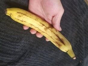High Resolution Scan of a Banana. Yes, a Banana.
