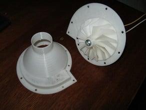 12V DC Motor Turbine